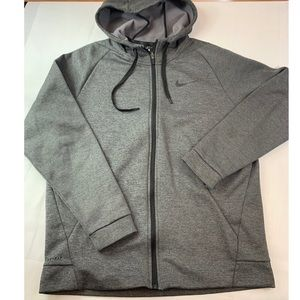 Nike: Zip Up Sweater Dri -Fit  Size: L